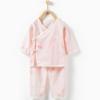 Tong Tai 童泰 新生儿系带开裆和服套装 0-3个月 39.5元