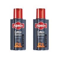 Alpecin 阿佩辛 咖啡因C1洗发水 250ml*2瓶装 *3件