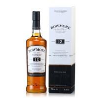 Bowmore 波摩 12年艾莱单一麦芽苏格兰威士忌 700ml *2件