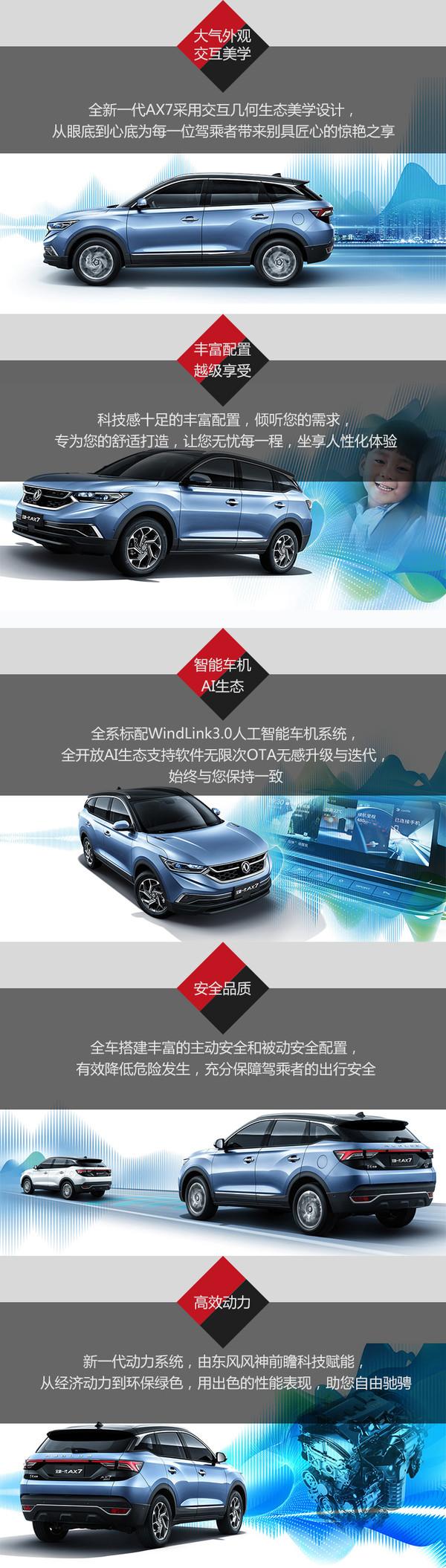 东风 风神 全新一代AX7 线上专享优惠