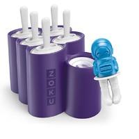 ZOKU 太空系列冰棒模具ZK124紫色 (6支装)*2件+凑单品