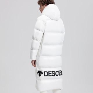 DESCENTE 迪桑特 RETRO D8431TDJ69  男女同款 长款加厚羽绒服