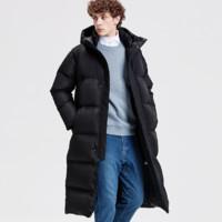 反季特卖:DESCENTE 迪桑特 RETRO东京版 D8431TDJ69 长款加厚羽绒服