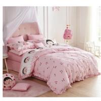 Dohia 多喜爱 樱桃小丸子 全棉四件套 1.2米床