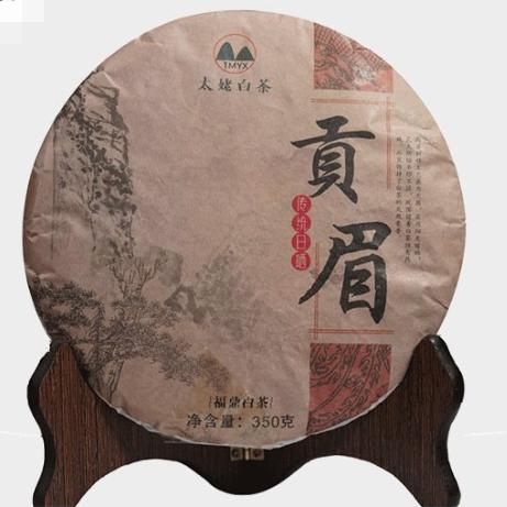 太姥缘香 贡眉 2017年福鼎白茶 350g*1/盒