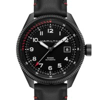 HAMILTON 汉米尔顿 Khaki Takeoff 启航 策马特飞鹰 限量版 H76695733 男士机械腕表