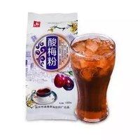 限地区 : 通惠酸梅粉  饮料冲饮果珍果汁酸梅晶1000g/袋 *10件