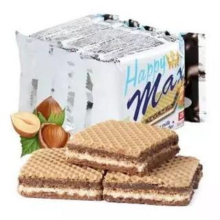 波兰进口 爱芙(Flis  )奶油榛子浆五层威化饼干25g*5袋 *12件