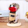 星扉 火树银花仿真玫瑰花玻璃罩 39.2元包邮(需用券)