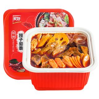 美好 辣子蜀黍 方便速食 肉多多麻辣自热火锅懒人方便微火锅430g/盒