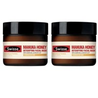 凑单品:Swisse 瑞思 麦卢卡蜂蜜排毒面膜 70g*2瓶装