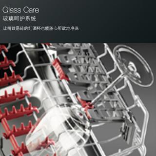 AEG FSK93800P 嵌入式洗碗机 (自然空气烘干、喷淋式、11L、13套、嵌入式、白色)