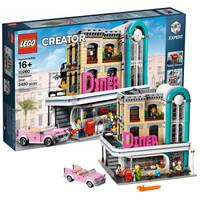 LEGO 乐高 积木玩具系列 10260 怀旧餐厅