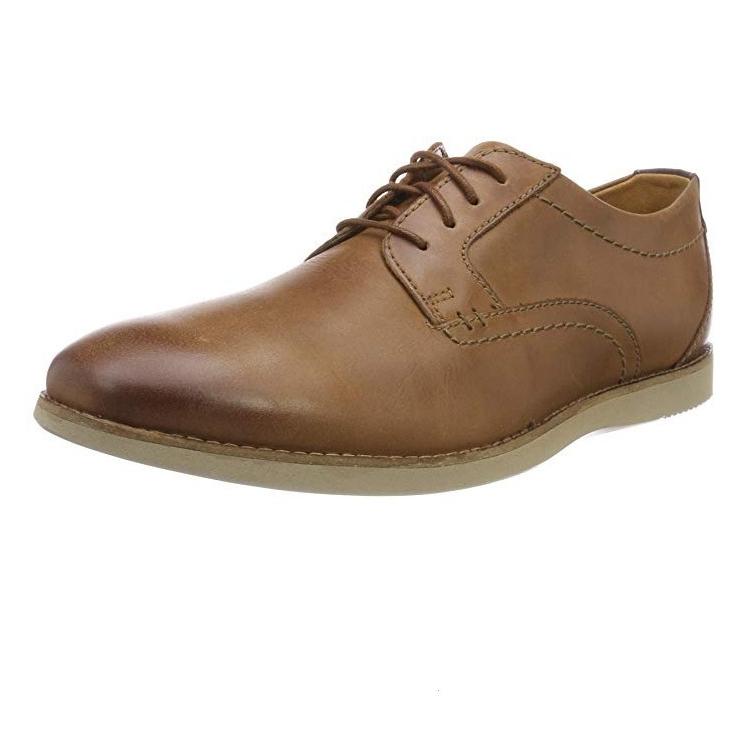 Clarks Raharto Plain 男士皮鞋