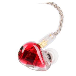 MAGAOSI 麦高思 K5 纯动铁系列  HIFI耳机 红蓝色