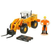 凯迪威 合金重型叉装机 儿童玩具工程车 623019