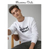 Massimo Dutti 00746251250 男装 HUNDRED COTTON 文字运动衫 190元