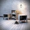 优主意 边几角几凳子 书架客厅卧室简易多功能可叠加变形床头柜 都市浅咖色 486mm*400mm*450mm 126元