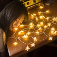 LED小彩灯闪灯串灯满天星女生房间装饰网红少女心宿舍布置星星灯小彩灯闪灯串灯满天星圣诞房间装饰网红女