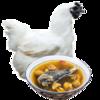 戴姆勒斯 乌骨鸡  土鸡肉1年 新鲜现杀整鸡1只 149元,可低至64元