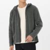 MUJI 无印良品 M7AB609 男士含羊毛抓绒连帽卫衣 209元