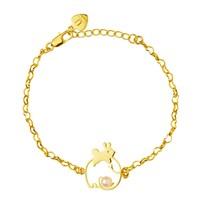 U Jewelry 优集 小动物亲子系列 大象与兔子手链