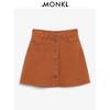 MONKI2018新款 经典时尚A字裙牛仔半身裙短裙女 0356270 200元