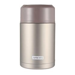 哈尔斯(HAERS)焖烧杯 1000ML 本色 *2件