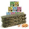 果仁夹心海苔脆 罐装海苔 四种口味 5罐装 29.9元(需用券)
