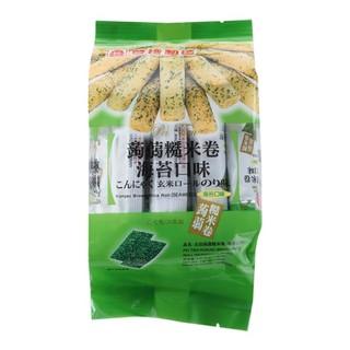 中国台湾 北田糙米卷海苔口味 160g 新老包装交替 随机发货