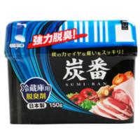 KOKUBO 小久保炭番 冰箱冷藏室用脱臭剂 150g/个