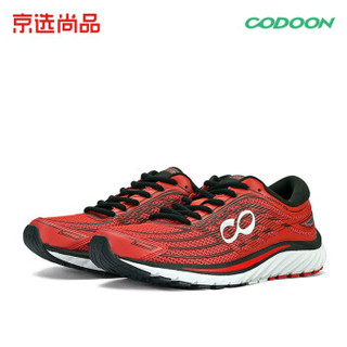 codoon 咕咚 S218302 男士智能跑鞋10K (40、突破红)