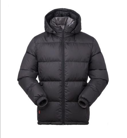 BLACK ICE 黑冰 F8905 男款連帽羽絨服 黑色 L