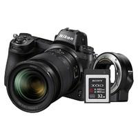 Nikon 尼康全画幅微单 Z6/24-70+FTZ接环+32G XQD卡