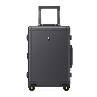 LEVEL8 LA-1695-14T00 锤子科技联名款 铝镁合金拉杆箱 深灰色 20寸
