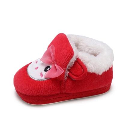 聪贝卡 婴儿加绒学步鞋
