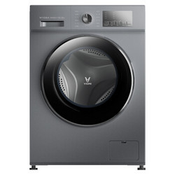 VIOMI 云米 W10SA 滚筒洗衣机 (10KG、银色)