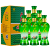 洋河镇白酒龙瓷 42度龙瓷荷花500ml白酒6瓶 礼盒装送礼 129元(需用券)