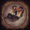 PArtka阿卡春季女式复古百搭真皮牛皮高防水台系带高跟鞋LD10051X 188元