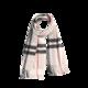 网易严选 经典100%山羊绒格纹围巾2.0