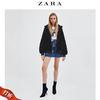 ZARA TRF 17134301040 女鞋 冬季 黑色弹力高跟细跟马丁靴短靴 179元