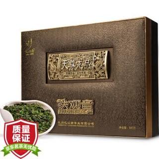 忆江南 天尊龙品 安溪 特级铁观音茶叶年货礼盒装 500g *3件