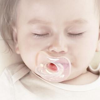babycare 婴儿硅胶安抚奶嘴 宝宝咬咬乐 Y306(4-12个月) *8件