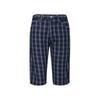 EVISU 惠美寿 EVD7550SS001 男装 GRAY SMOKE SMALL小蓝格子 蓝色短裤 489.6元