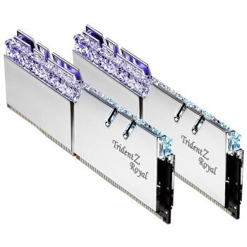 G.SKILL 芝奇 皇家戟 DDR4 3600MHz 台式机内存 银色 16GB(8GB×2)