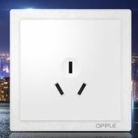 OPPLE 欧普照明 k07系列 16A三孔插座面板