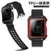 apple watch表带苹果手表表带iwatch4一体运动型硅胶2代保护套42mm38男女iphone series 3/2潮表带 43元