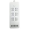 长城风行(CCFX)CF-U8061全长1.8米六位插孔带五位USB接口带儿童保护门白色插座/接线板/插线板/排插 39元