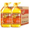 23号10点:福临门 家香味压榨一级花生油 3.68L*2桶 *2件 149.9元(需用券,合74.95元/件)
