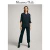 Massimo Dutti 05166573401 女装 拼接衬衫 220元
